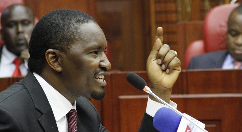 He pretended to be sick at a serious meeting - Mwangi Kiunjuri hits back at Raila Odinga over Meru BBI rally