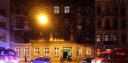 Pożar kamienicy przy Gdańskiej