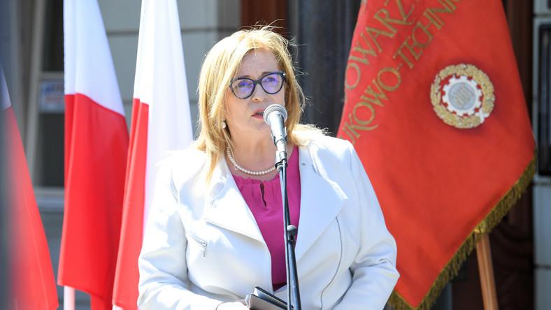 Wicemarszałek Sejmu Małgorzata Gosiewska