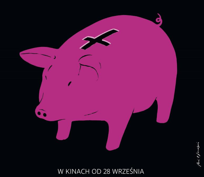 Nowy Plakat Do Filmu Kler A Na Nim Niezwykła świnka