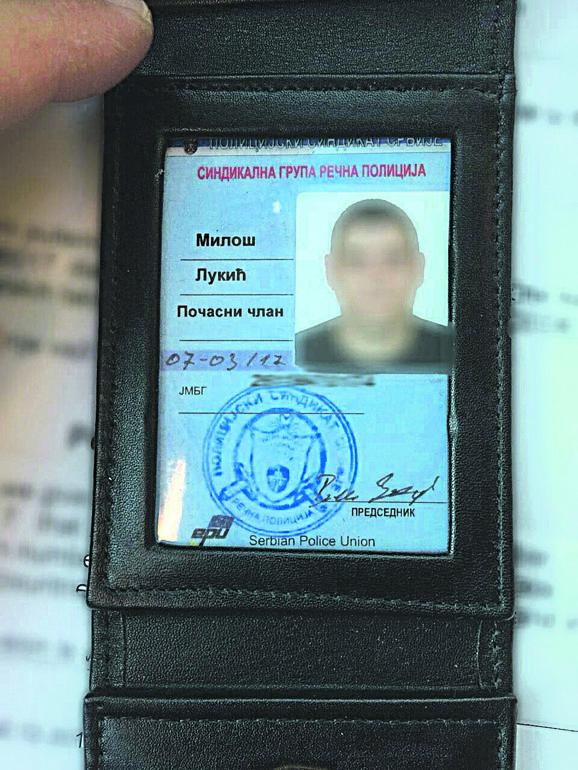 Policija je kod Lukića našla značku PSS
