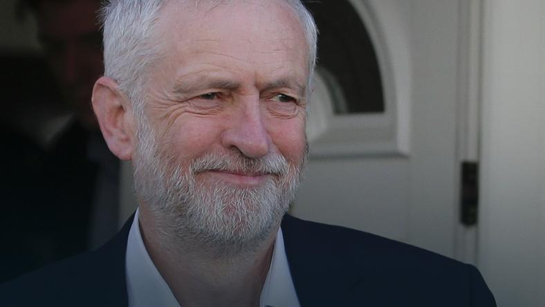 Lider Partii Pracy Jeremy Corbyn