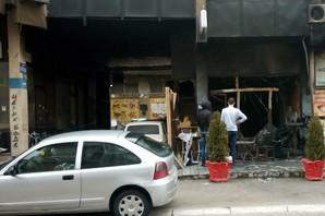 PIROMAN PODMETNUO VATRU? Izgoreo kafić u centru Užica, vatrgasci spasili okolne objekte