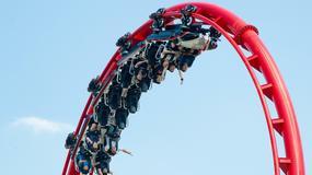 Największy rollercoaster w Polsce! Imponująca prędkość!