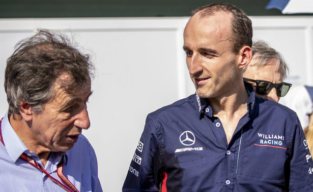 Robert Kubica w barwach Williamsa