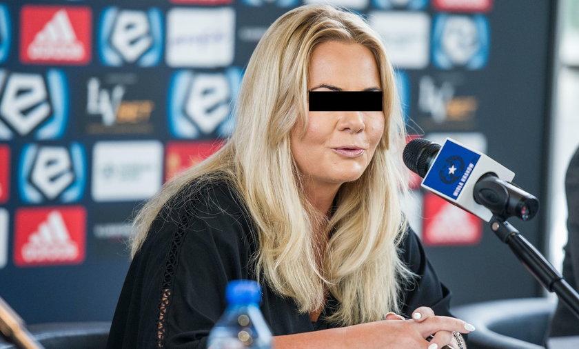Była prezes Wisły Kraków Marzena S.