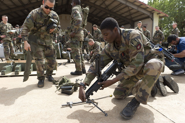 Francuscy żołnierze w Mali.