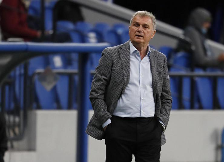 Ljubiša Tumbaković na meču Rusija - Srbija