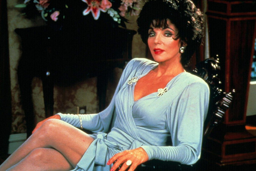 Ręce Joan Collins