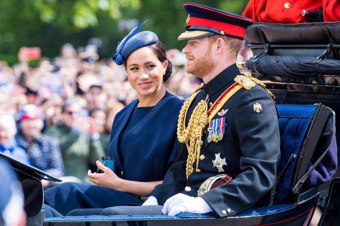 Vojvotkinja i vojvoda od Saseksa nedavno na proslavi rođendana kraljice Elizabete II u Londonu
