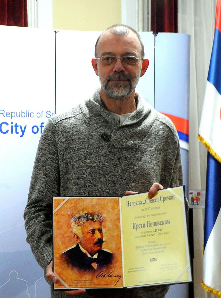 Krsto Popovski u Nisu Nagrada  Stevan Sremac K Kamenov