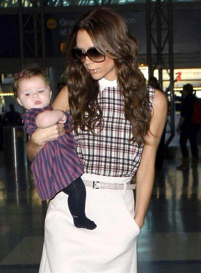 Dziecko Beckhamów ikoną stylu?