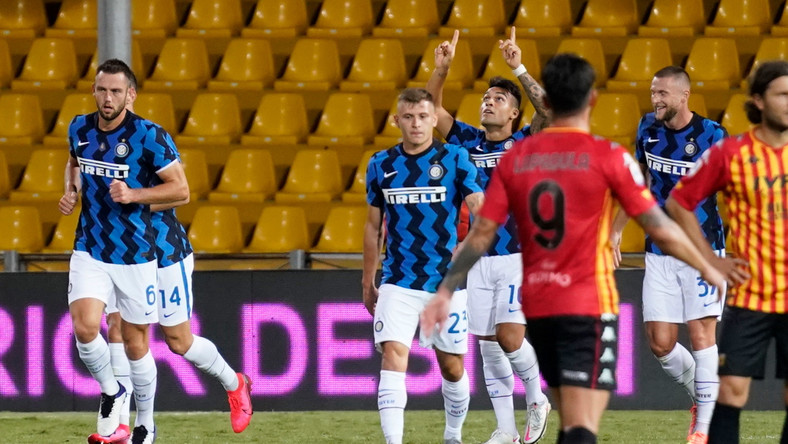 <p>Mecz Benevento-Inter</p>