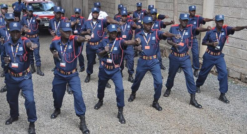 Private security guards allowed to carry firearms