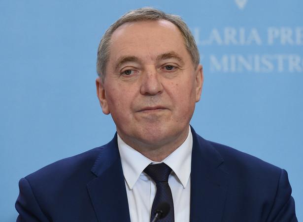 Przewodniczący Komitetu Stałego Rady Ministrów Henryk Kowalczyk, PAP/Radek Pietruszka