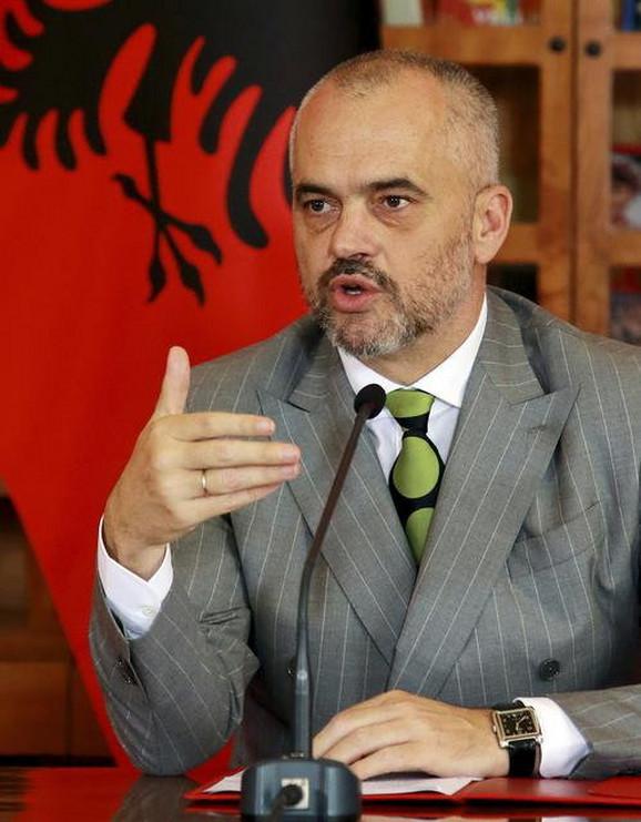 Edi Rama, albanski premijer