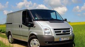 Ford Transit ECOnetic: zielony dostawczak