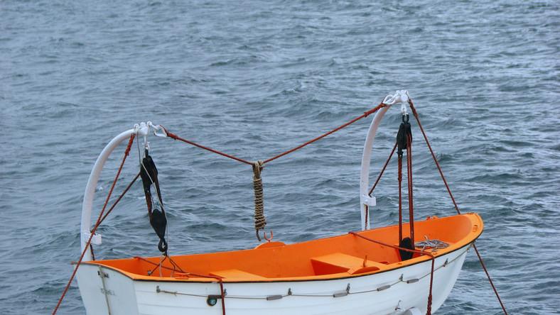 Szalupa ratunkowa na statku