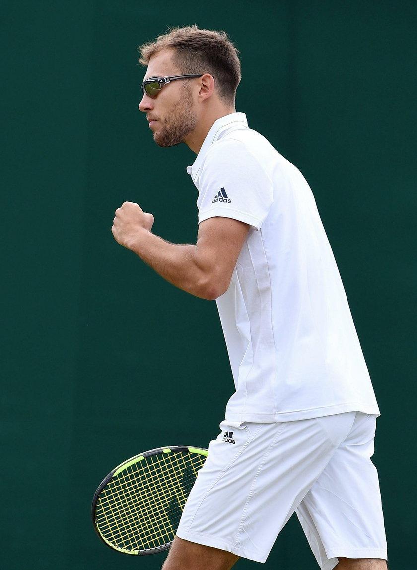 Horror Janowicza w pierwszym meczu Wimbledonu