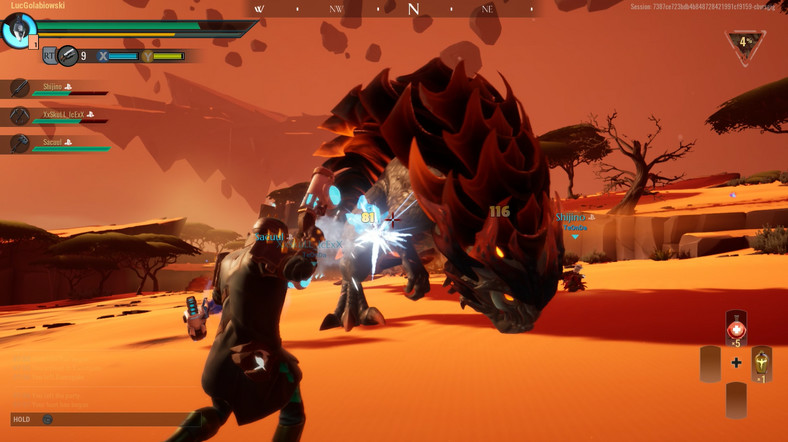 Dauntless - screenshot z gry