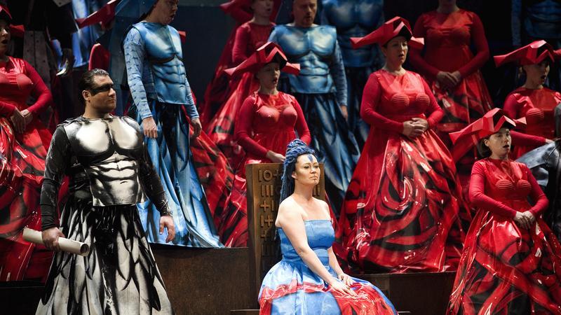 """""""Nabucca""""  (fot. Krzysztof Mystkowski/ KFP/Opera Bałtycka)"""