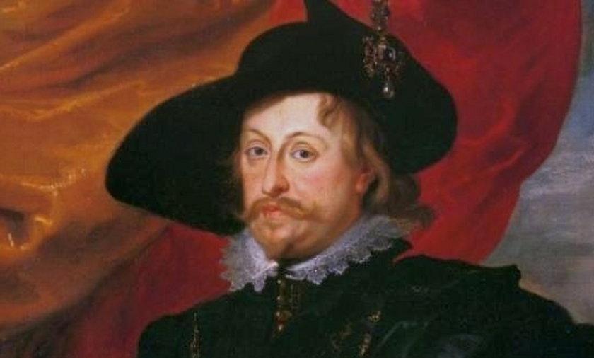 Władysław IV Waza sportretowany przez Rubensa w 1624 roku.