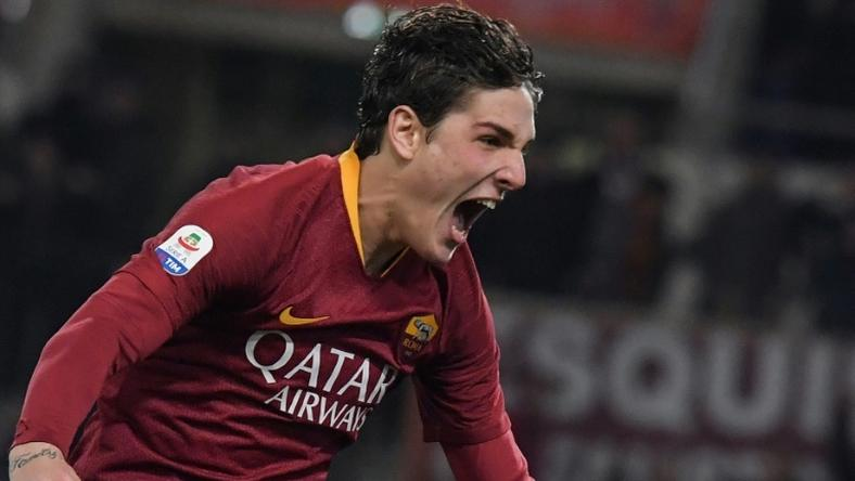 """Always believe in your dreams:"" Roma midfielder Nicolo Zaniolo, 19, has had a breakthrough season in Italy"