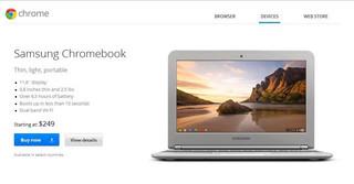 Chromebook - notebook Samsunga za 250$