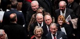 Nagrali Wałęsę na pogrzebie Busha. Smutny obraz...