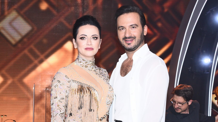 Izabela Małysz i Stefano Terrazzino