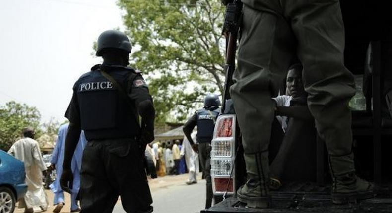 Officers of the Nigeria Police Force.