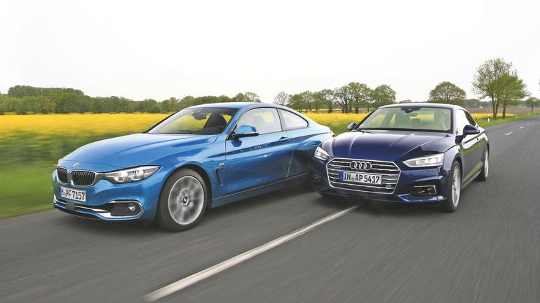 Brakuje tylko dwóch cylindrów - Audi A5 vs. BMW 430i
