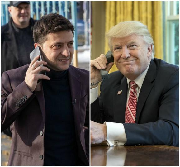 Donald Tramp (D) je pritiskao Volodomira Zelenskog da ispita posao Bajdenovih u Ukrajini