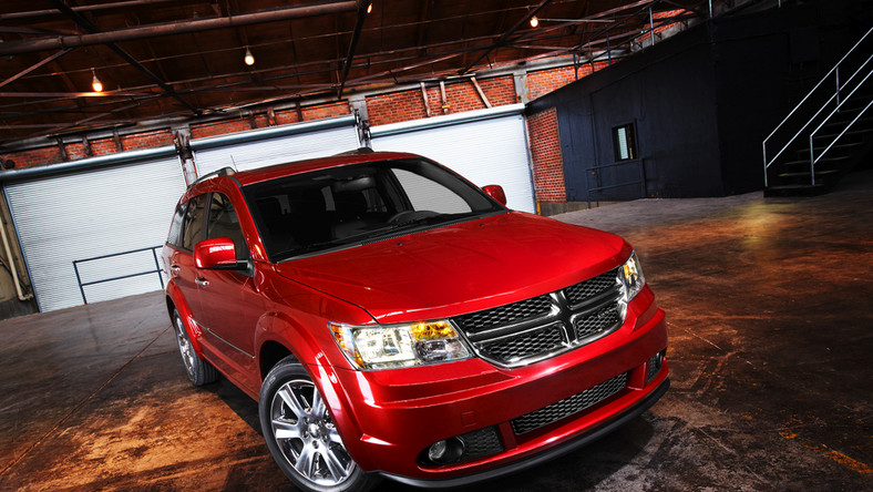 Dodge Journey po faceliftingu