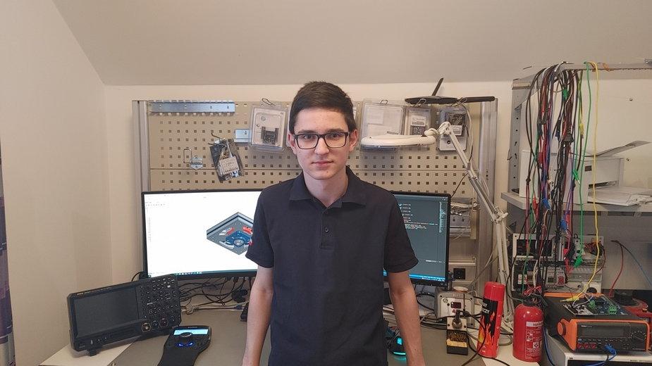 Kamil Wroński/Facebook/Kamil Wroński - młody naukowiec