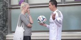 """Podryw """"na Cristiano""""? To działa! Udawał gwiazdora i wyrywał gorące laski! WIDEO"""