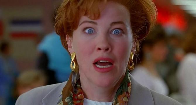 """Ketrin O'Hara u filmu """"Sam u kući"""""""