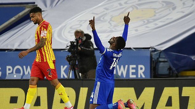 Nigerian Footballers Abroad: Kelechi Iheanacho and Victor Osimhen on target in midweek league games