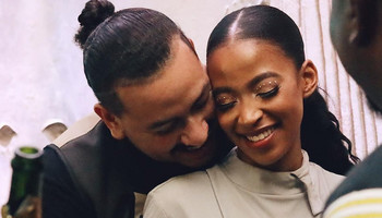 South African rapper AKA and his late fiancée Nelli Tembe [Instagram/AKAWorldwide]