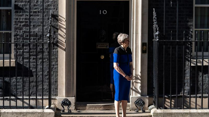 Theresa May / Fotó: MTI/EPA/Will Oliver