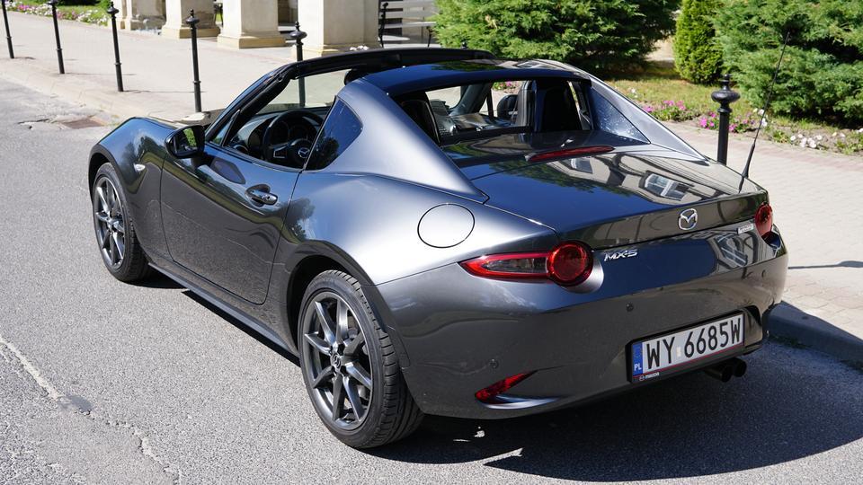 Mazda Mx 5 Rf Cena >> Mazda MX-5 RF 2.0 aut.   TEST, opinie, dane techniczne - Moto