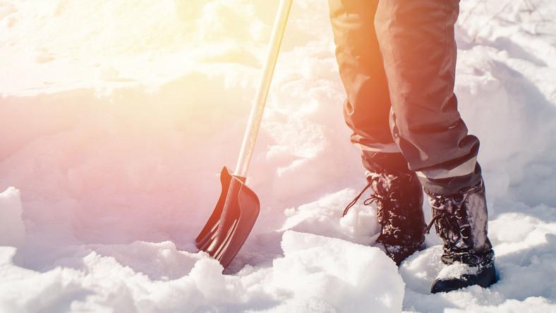 Odśnieżanie zimą