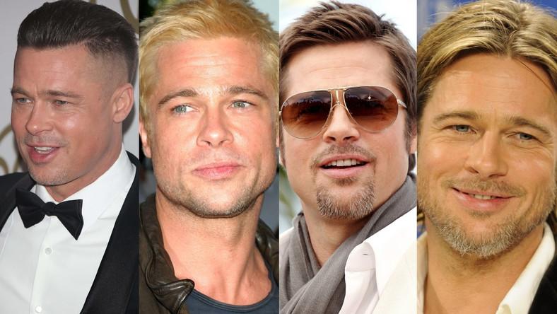 Wszystkie fryzury Brada Pitta!