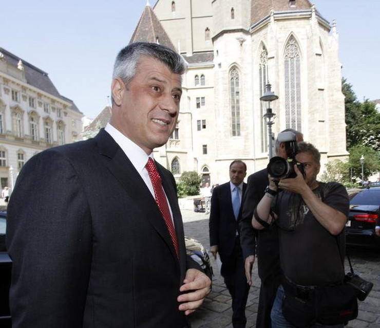 Hašim Tači u Beču na sastanku o nadgledanoj nezavisnosti