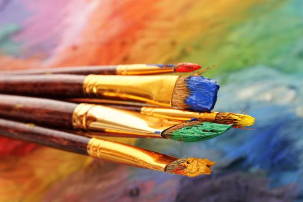 Farby i pędzle