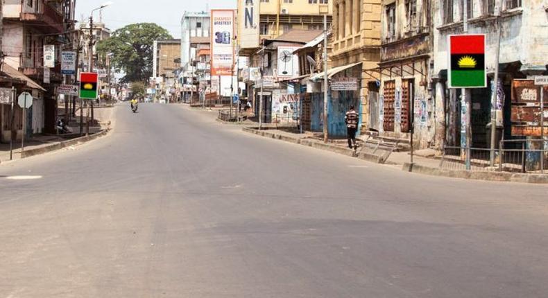 Sit-at-home: Socio-economic activities shut down in Enugu. [NTA]