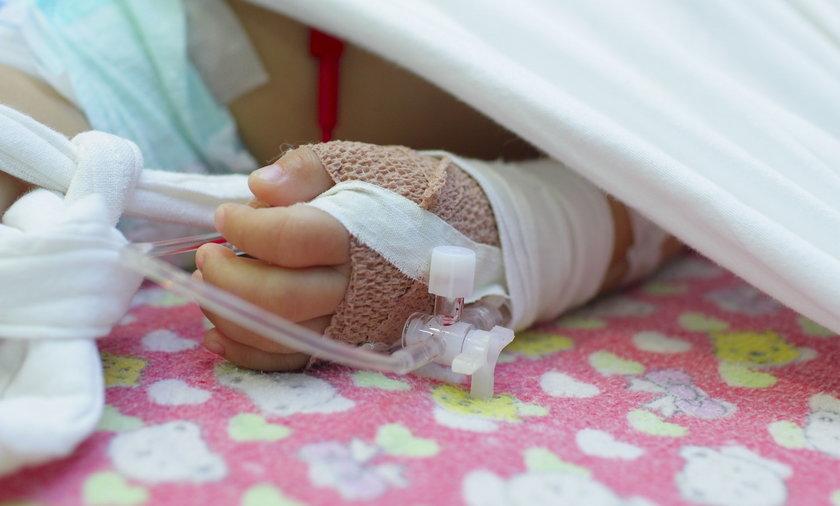 2-letni chłopiec zmarł w szpitalu w Olsztynie.