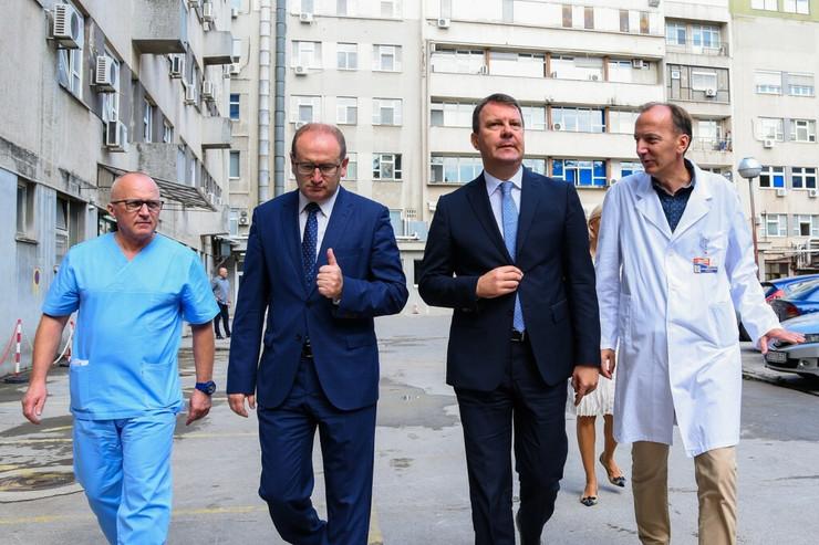 Igor Mirović, Klinika za kardiologiju, Sremska Kamenica