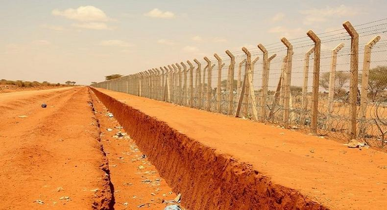 Mandera border post