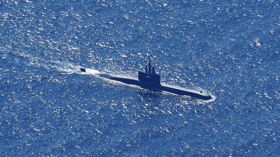 Zaginiony okręt podwodny